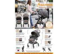 CAPELLA FREEMOVE S203 WORLD 360 FULL FUNCTIONAL STROLLER