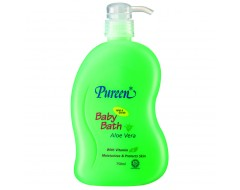 Pureen Baby Bath w Aloe Vera 750ml