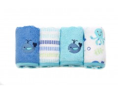 Owen 4pc Terry Washcloth