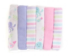 Owen 6pc Knit Washcloth