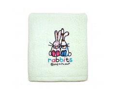 Bebe Bang On The Door Bath Towel Rabbits