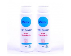 Pureen Cornstarch Powder 300gm x 2 bottles
