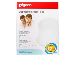 Pigeon Breast Pads Fit-type 60 +12pcs