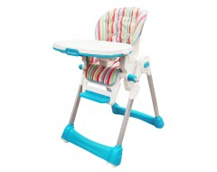 Lucky Baby Royal Baby Highchair Stripes