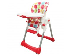 Lucky Baby Royal Baby Highchair Dots