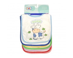 7 pack Baby Bibs - Monday to Sunday