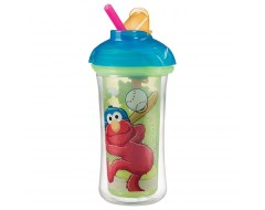 Munchkin 9oz Sesame Street Click Lock Insulated Straw Cup