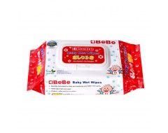 BeBe Baby Wet Wipes 100s x 3pkt