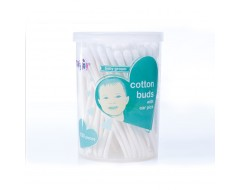 Tollyjoy Cotton Bud w Earpick 100pc