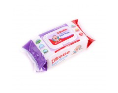BeBe Premium Baby Wet Wipes 80s x 3pkt