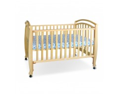 Bon Be Be Vermont 4-in1 Baby Cot Bundle Natural