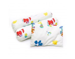 Owen Sesame Street 2 Bolster / 1 Pillow Set w filling
