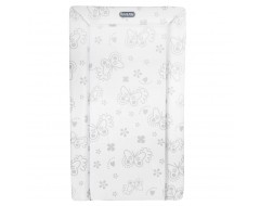 Lucky Baby Changing Mat Silver Butterfly