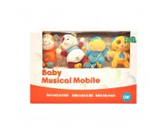 Baby Wonder Little Safari Musical Mobile