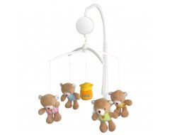 Lucky Baby JOLEE™ Musical Mobile-Bear