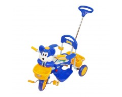 Family Tricycle (Blue/ Orange)