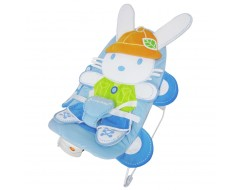 Lucky Baby Peppy™ Baby Bouncer - COCO Blue Rabbit