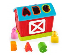 Bright Starts Having A Ball Barn Yard Shape Sorter