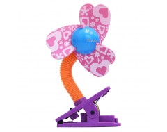 Lucky Baby New Mini Laser Safety Clip on Fan Pattern Series Cloudy Blades