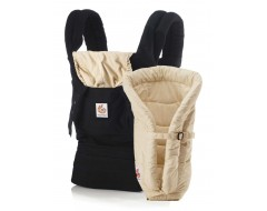 Ergobaby Bundle of Joy Black/Camel Carrier w Camel Insert