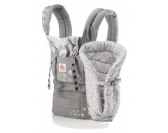 Ergobaby Bundle of Joy Galaxy Grey Carrier w Galaxy Grey Insert