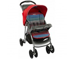 Graco Mirage + Solo Pepper Stripe