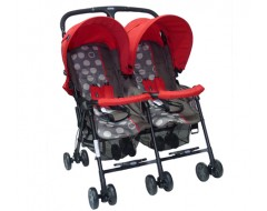 Goodbaby Twin Stroller - Red