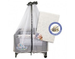 S10 Bedside Playpen + anti dustmite mattress