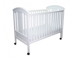 """Baby One 4 in 1 Cot with 4"""" Foam Mattress w Holes"""