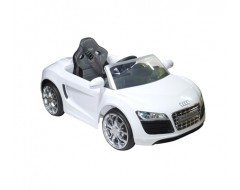 Battery Operated Car – Audi R8 White