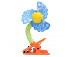 Lucky Baby New Mini Laser Safety Clip on Fan Pattern Series Wavy Blades